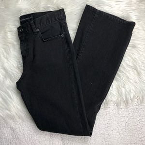 Calvin Klein flare Black Jeans, Size 27/4